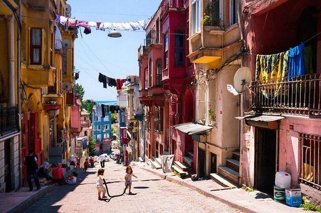 район Балат Стамбул