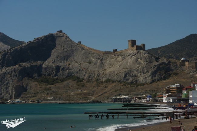 Генуэзская крепость Судак