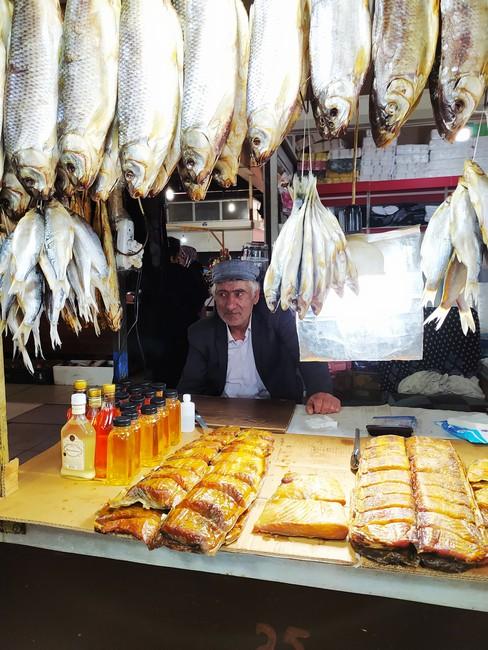 Рыбный рынок Махачкала