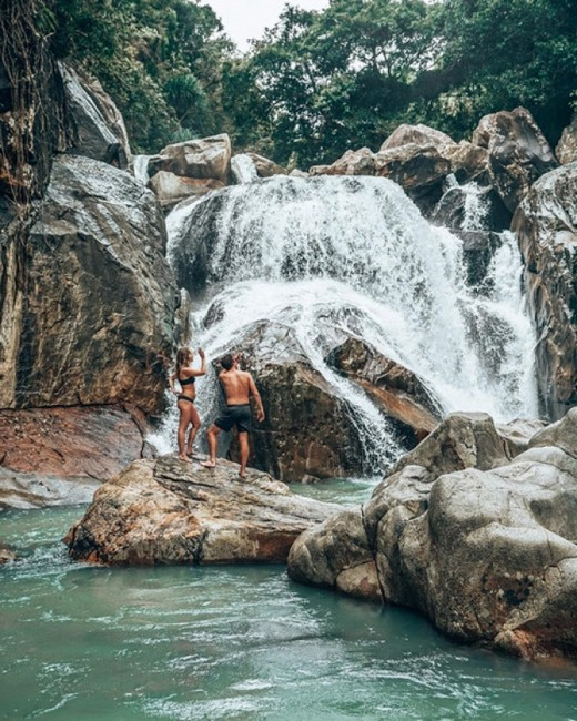 водопады Ба Хо Нячанг