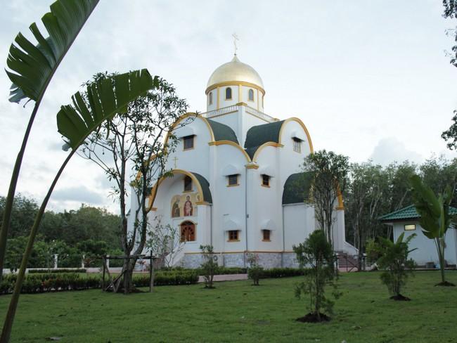 православный храм Пхукет