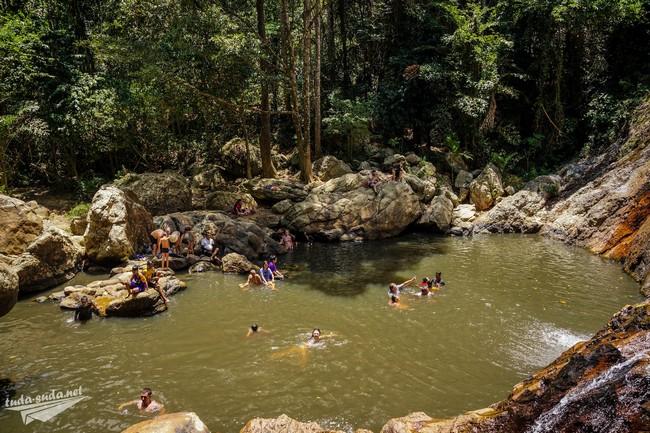 водопад Намуанг-1 Самуи