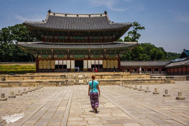 Дворец Чхандоккун Сеул