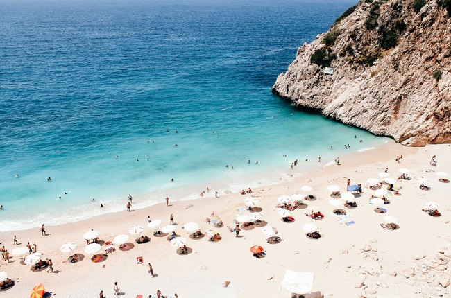 пляж Капуташ фото