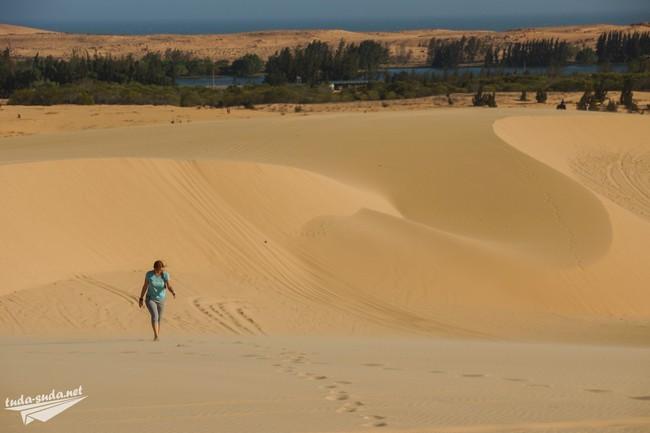 песчаные дюны муйне