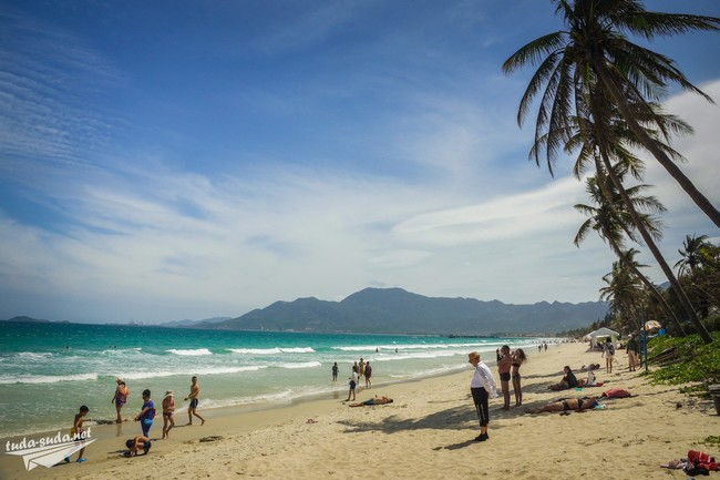 нячанг парадайз пляж