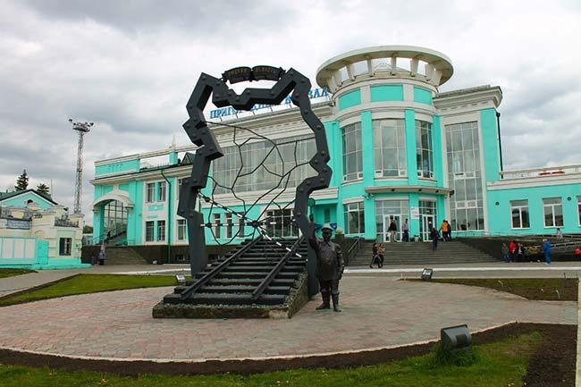 Пригородный вокзал Омск
