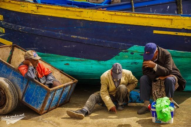 рыбаки марокко