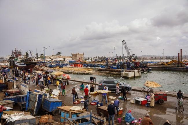 Рыбный рынок Эс-Сувейра
