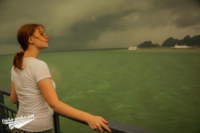 Море девушка фото