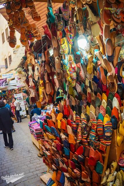 тапочки марокко