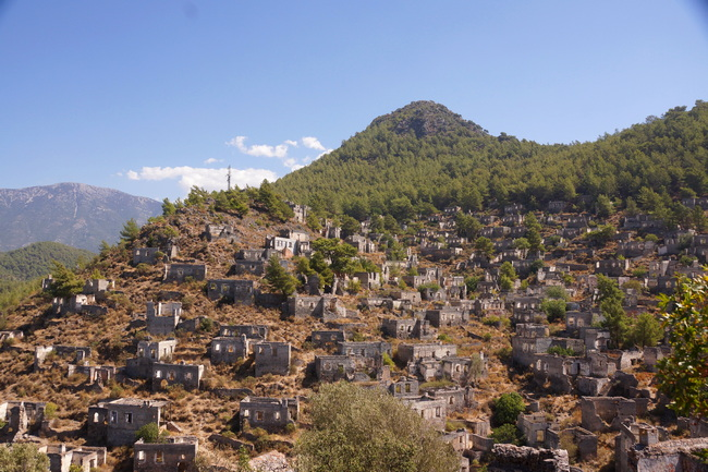 Заброшенны город Каякёй