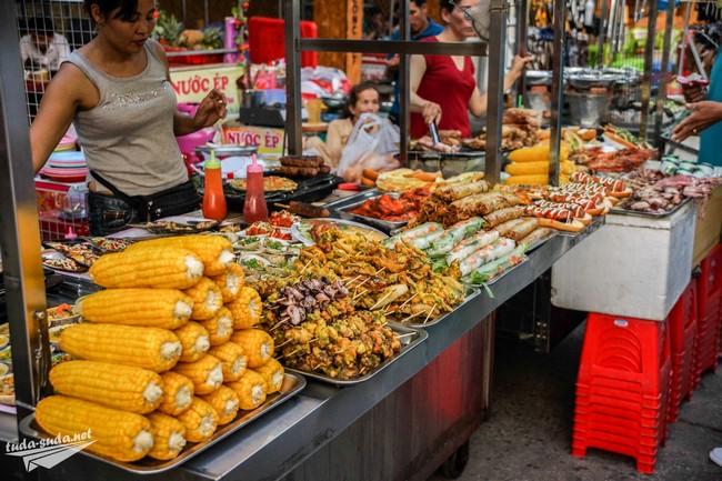Ночной рынок дуонг донг