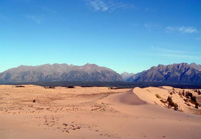 Чарские пески фото