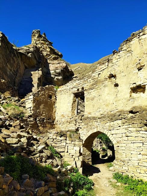 Заброшенный аул Дагестан