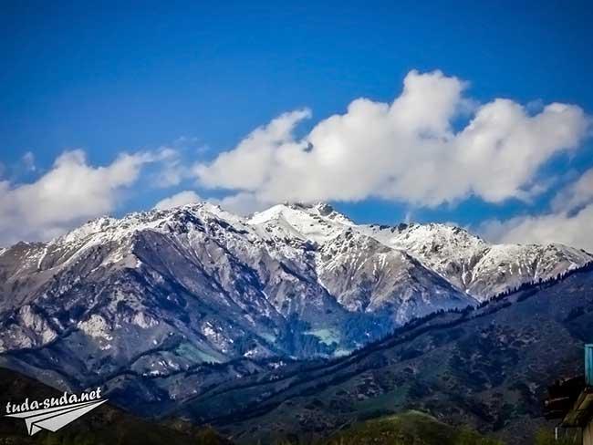 Иссык-Куль горы