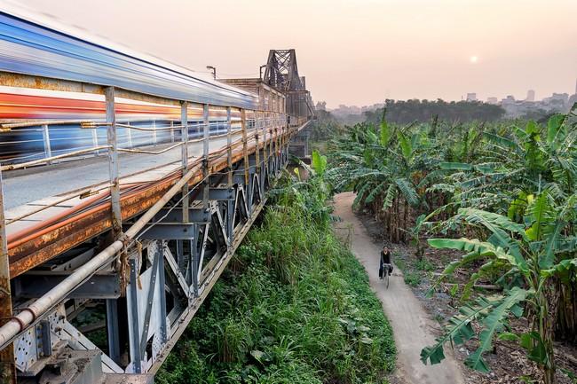мост Long Bien Ханой