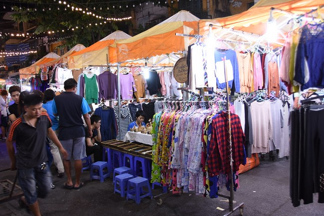ночной рынок Ханой