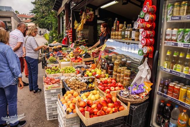фрукты Черногория