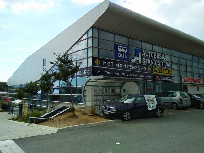 Автовокзал Тиват