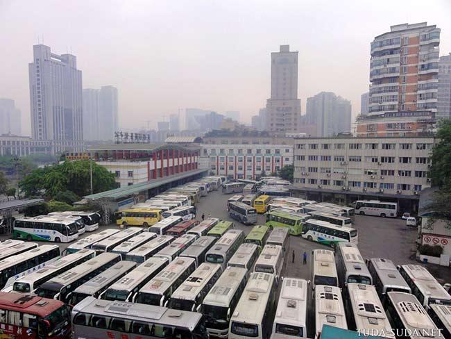 Чэнду автовокзал