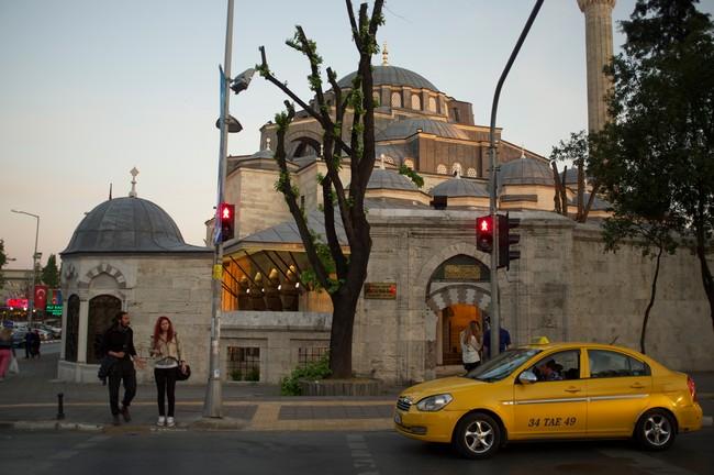 такси из аэропорта в центр Стамбула