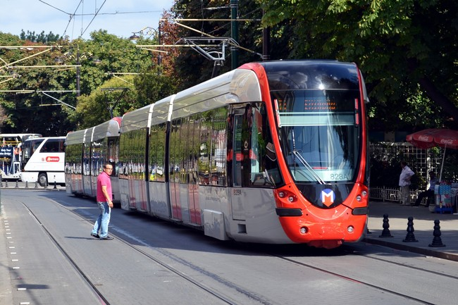 трамвай Стамбул