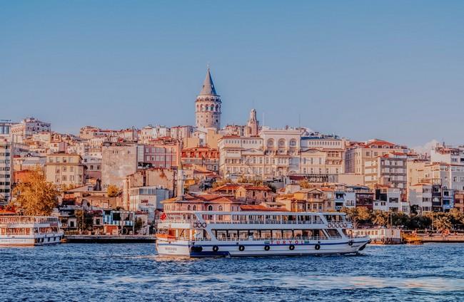 паром Золотой Рог Стамбул