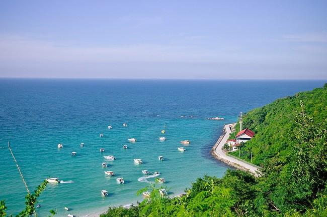 таиланд дорога вдоль моря