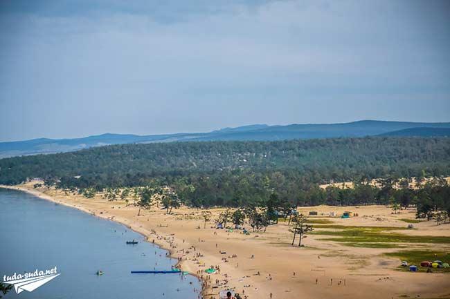 Пляж в Хужире