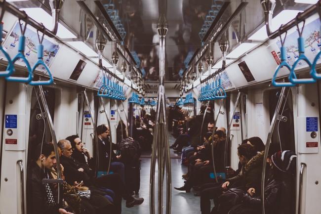 вагон метро Стамбул
