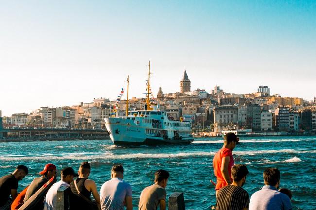 паром Стамбул фото
