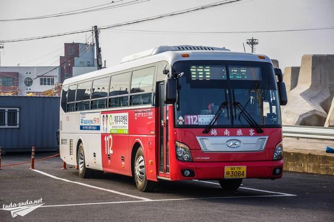 автобусы Чеджу