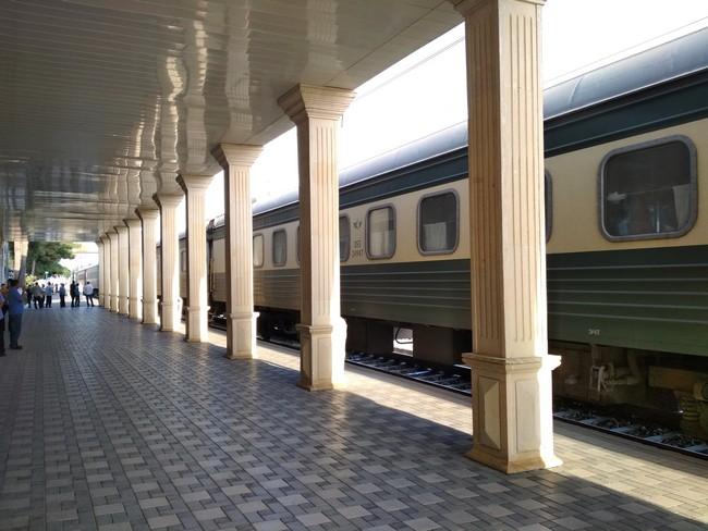 Поезд в Азербайджане