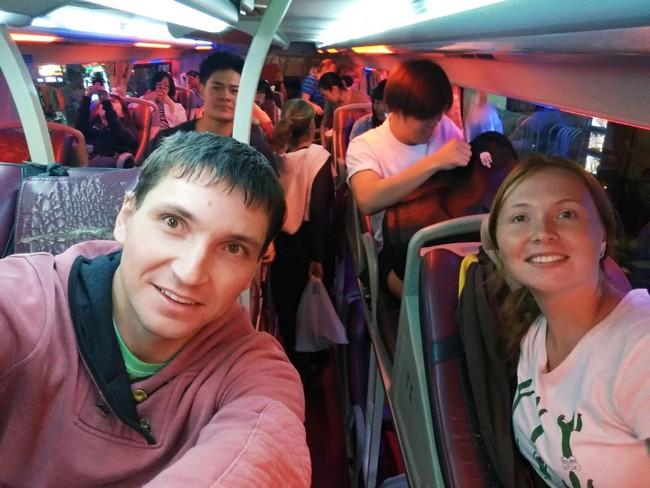 Лежачий автобус Вьетнам