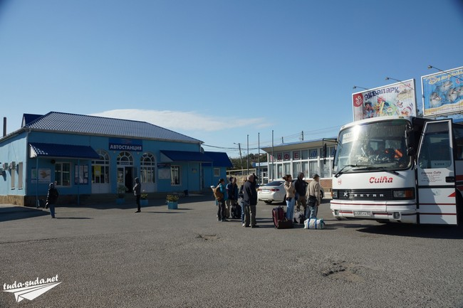 автобус Симферополь-Судак