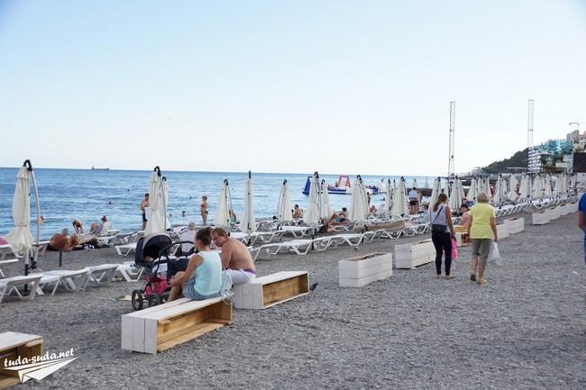 Ялта пляж