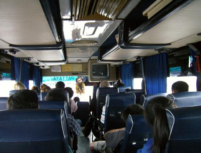 в Паттайю на автобусе