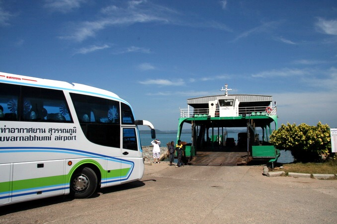 автобус аэропорт Суварнабхуми Ко Чанг