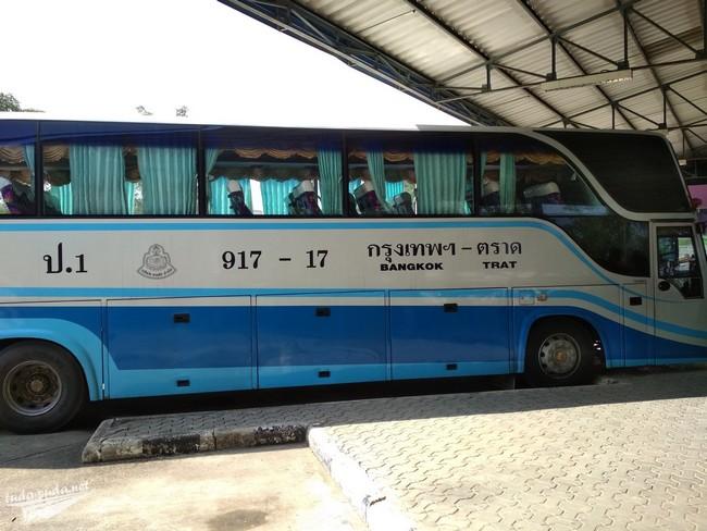 автобус Бангкок Трат