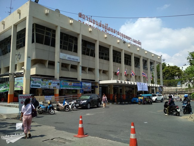 Автовокзал Эккамай Бангкок