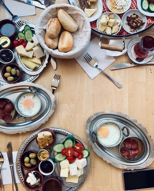турецкий завтрак Стамбул