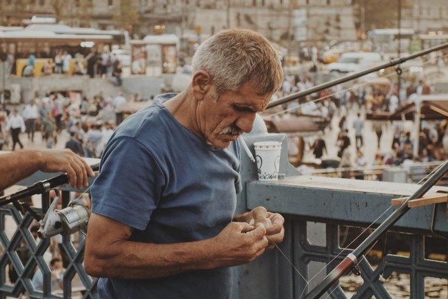 Рыбак Стамбул