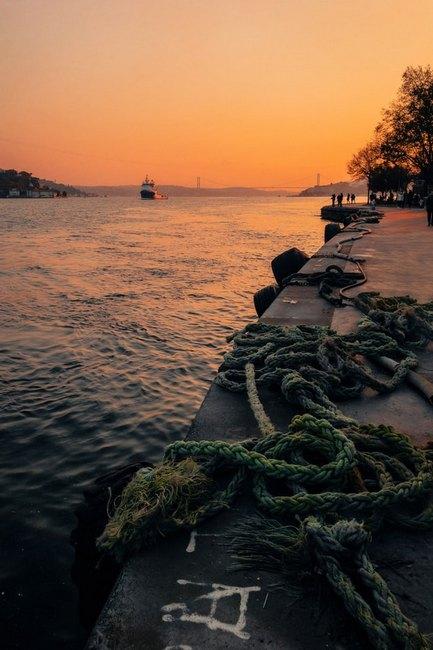 Стамбул вечернее фото