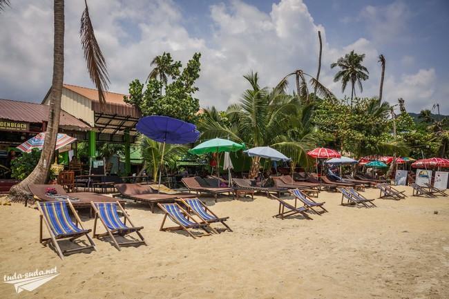 пляж лежак таиланд