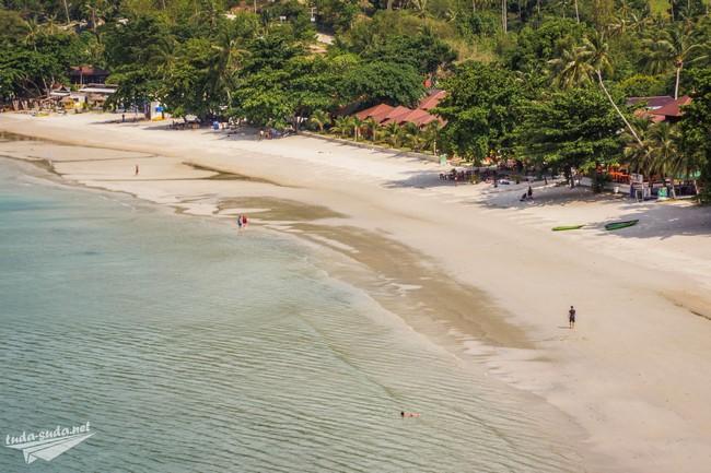 Пляж Thong Nai Pan Yai Панган