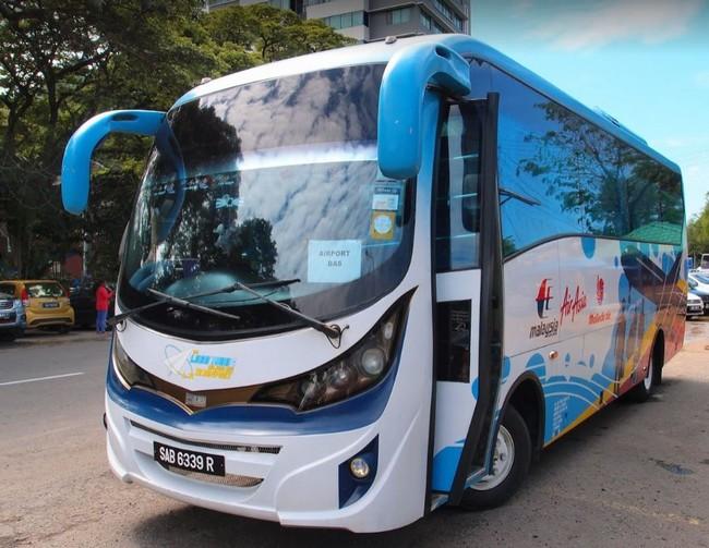Автобус в аэропорт Кота-Кинабалу