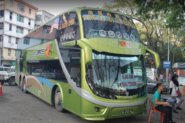автобусы Кота-Кинабалу