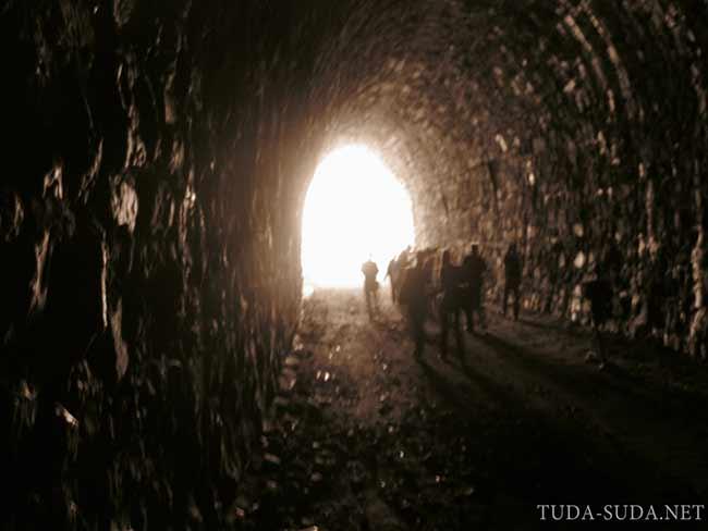 Тоннели на Кругобайкалке