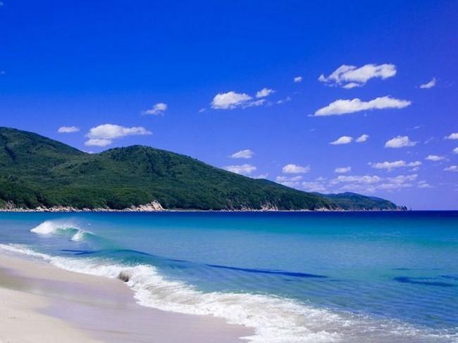 пляж Ливадия Приморье